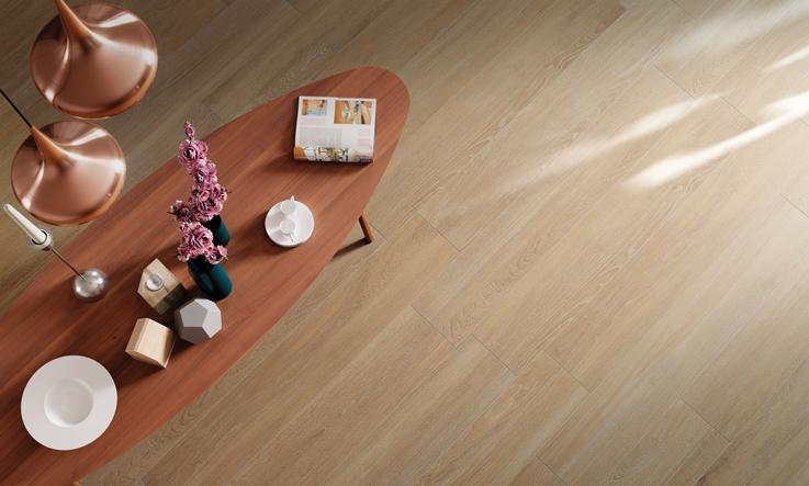 Wood effect porcelain stoneware, a global success