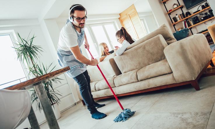 Vinyl floorings: cleaning tips