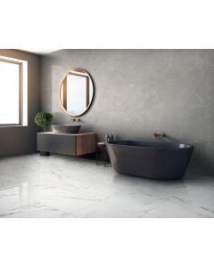 Bagno 60x60 Effetto Marmo Carrara