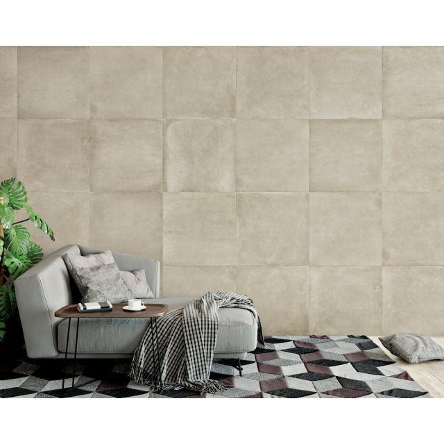 Living Effetto Cemento 60x60 Beige