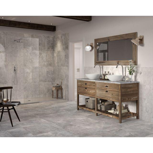 Bagno Effetto Pietra 60x60 Grey