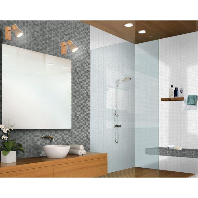 Bagno Effetto Cemento 30x30 Noir