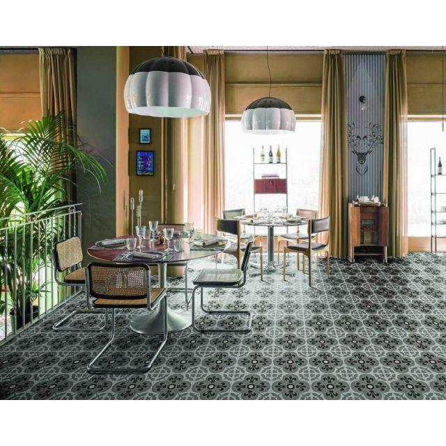 Commerciale Effetto Cementina D_Segni Scaglie Tappeto 15 20x20