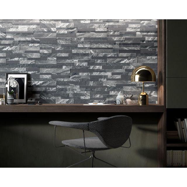 3D Walltiles Bathroom Marble Effect 15x61 Beige