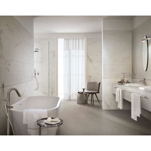 Bathroom Marble Effect 60x180 Statuario