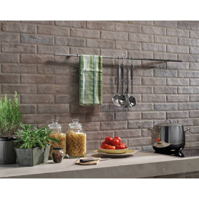 Kitchen Brick Effect 6x25 Mud