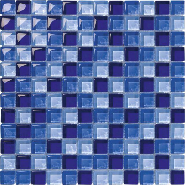 Easyglass Blu Mosaico 30x30 f