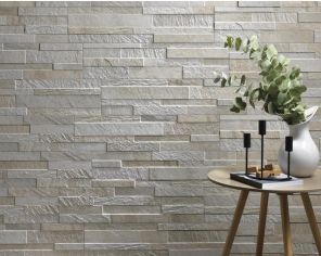 3D Walltiles Living Stone Effect 15x61 White