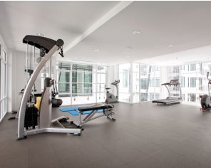 Technical Full-Body Stoneware for Gyms 30x30, Grey