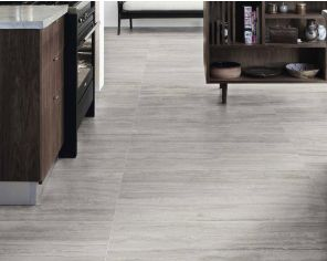 Marble effect porcelain stoneware for classic and charming floors