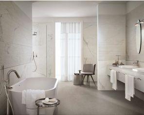 Bathroom Marble Effect 60x180 Statuario