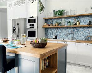 Cucina Effetto Vetro 30x30 Sky