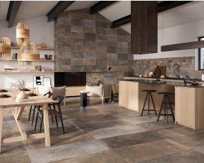 Bath Stone Effect 60x60 Light Grey