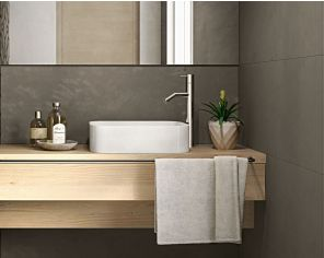 Bathroom Concrete Effect 40x120 Zinco