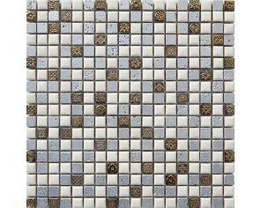 Freedom Silver Mosaico 30x30 h