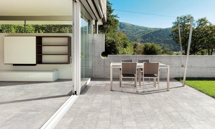 continuità fra pavimenti indoor e Outdoor