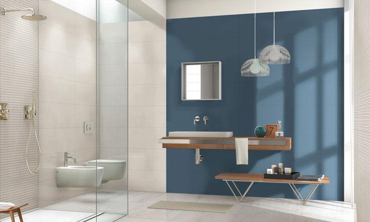 bagno contemporaneo colorplay Marazzi