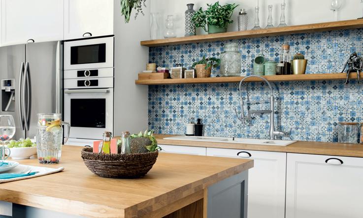 mosaico cucina cementina